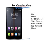 10PCS High Quality PET HD Transparent Screen Protector Films For Oneplus