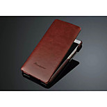 Solid Upper and Lower Buckle PU Leather Case with Inserted Card for Huawei P8(Assorted Colors)