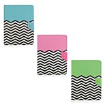 Wave Pattern Magnetic Flip Stand Universal PU Leather Case with Elastic Belt for 7 Inch Tablet PC (Assorted Color)
