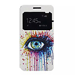 Color Tears Pattern PU Leather Phone Case For Lenovo K3