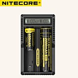 Nitecore UM20 LCD Display Battery Charger Universal Nitecore Charger With Usb Cable