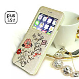 Multicolor Diamond Lightning Flash Phone Holster For iPhone 6 Plus (Assorted Colors)