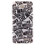 Cartoon Letters Pattern TPU Soft Case for LG 70