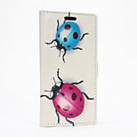 Ladybug Pattern Full Body Case for HTC Desire 626