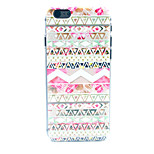 Element  Pattern Transparent Frosted PC Back Cover  For iPhone 6