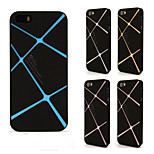 iPhone5 / 5S / 5C scrub phone shell three-dimensional lines can change color cell phone protection shell