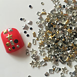 200PCS Mixed Style  Rivet Nail Art Decorations 3#