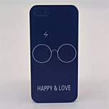 Glasses  Pattern PC Hard Case For iPhone 5/5S