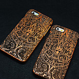 Pear Wood God Totem Hard Back Cover for iPhone 6