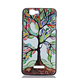 Colored Trees Pattern PC Material Phone Case for Wiko RAINBOW