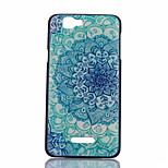 Blue and White Pattern PC Material Phone Case for Wiko RAINBOW