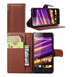 Litchi Around Open Bracket Leather Phone Wallet Card Suitable for Wiko Jimmy(Assorted Color)