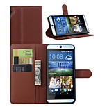 Litchi Around Open Bracket Leather Phone Wallet Card Suitable for HTC Desire 826(Assorted Color)