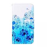 Löwenzahn-Muster PU-Leder-Tasche für Samsung Galaxy a3
