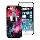 The Believe Design Hard Case for iPhone 5/5S