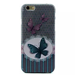 Cover Back Case Butterfly TPU Soft Case Special Design for iPhone 6