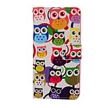 Magic Spider®Owl Pattern PU Full Body Case Stand with Screen Protector for Sony Z4