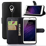 Litchi Around Open Bracket Leather Phone Wallet Card Suitable for Meizu MX5(Assorted Color)