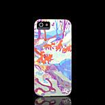 patrón de zorro duro para el iphone 5 caso para el iphone 5 s