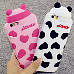 Cow Pattern Soft Silicone Material Phone Case for iPhone 6 Plus (Assorted Colors)