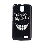 Crazy teeth Pattern PC Hard Case for Lenovo A328
