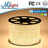 Mlight M 72 leds/m 5050 SMD Branco Quente/Branco Prova-de-Água/Cortável 9 W Faixas de Luzes LED Flexíveis AC110-220 V