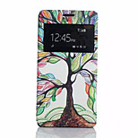 Tree of Life Pattern PU Leather Phone Case For Sony Z4
