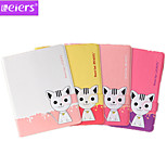 Leiers™ Domi Cat 2nd PU+TPU Leather Ultra-thin Case 3D Cartoon Lovely Cover With Card Slot Stand for ipad 2/3/4