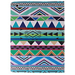 Colorful Cloth Picture PU Leather Full Body TPU Case with Card Holder for Ipad 2 Ipad 3 Ipad 4