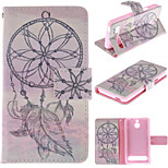 Windbell Design PU Leather Stand Case with Card Slot for Sony Xperia E1