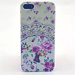 Garden  Pattern PC Hard Case For iPhone 5/5S