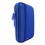 Protective Hard Shockproof Bag Case For 2.5 Inch Hard Disk Drive - Blue