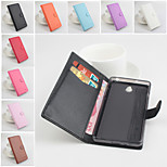 Protective PU Leather Magnetic Vertical Flip Case for Infocus M512(Assorted Colors)