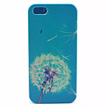 Blue Dandelion  Pattern PC Hard Case For iPhone 5/5S