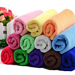 Hoopet Absorbent Microfiber Pet Towels for Pets Cats Dogs Small Size(1-Piece, Random Colour)