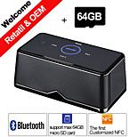 Besteye® 64GB TF Card and W600 NFC Portable Stereo Bluetooth Speaker for Iphone Samsung PC Sound Box Speakers