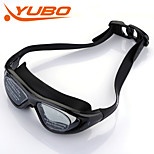 YOBO Unisex Anti-Fog/Adjustable Size/Anti-UV/Anti-slip Black Swimming Goggles