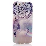 Purple Campanula Pattern TPU Soft Material Phone Case for iPhone 5/5S