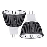 2 pcs Ding Yao 15W 1X COB 50-100LM 2800-3500/6000-6500K Warm White/Cool White MR16 Spot Lights AC 85-265V