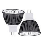 2 Stück Ding Yao Spot Lampen MR16 15 W 50-100 LM 2800-3500/6000-6500 K 1 COB Warmes Weiß/Kühles Weiß AC 85-265 V