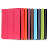 10.1 Inch Triple Folding Pattern High Quality PU Leather Case for Sony Xperia Z4 Tablet Ultra(Assorted Colors)