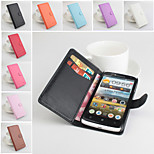 Protective PU Leather Magnetic Vertical Flip Case for Lenovo S820(Assorted Colors)