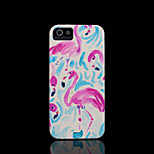 flamingo patroon harde kaft voor iPhone 5 case voor de iPhone 5 s