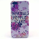 Medicago Pattern PC Hard Case For iPhone 5/5S