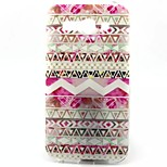 White Wave Pattern TPU Material Soft Phone Case  for Alcatel C9