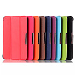 Newest Custer Luxury Leather Flip Full Body Case with Magnetic Buckle for Asus FE7530CXG (Assorted Colors)