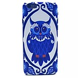 Blue Owl Pattern PC Material Phone Case for iPhone 6
