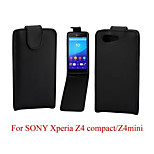 Protective PU Leather Magnetic Vertical Flip Case for Sony Xperia Z4 Compact/Z4 mini