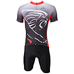 PaladinSport Men's Cycyling Jersey + Shorts  Bike Suits DT289 Lion Design