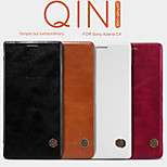 NILLKIN Qin Series Leather Case Turnkey Following Cover Case for Sony Xperia C4(Assorted Colors)